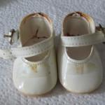 Emilys Schuhe vor der Aufarbeitung