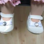 Emilys Schuhe nach der Aufbereitung