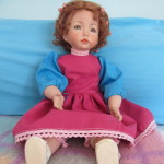 Emily im neuen Kleid...